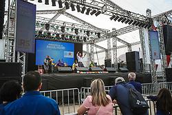 Esteio, 26.08.2019 - Pandorga da Lua durante apresentação na 42a Expointer, realizada no Parque de Exposições Assis Brasil, Rio Grande do Sul.<br /> Foto Gustavo Granata/Agência Preview
