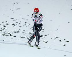 27.12.2016, Schattenbergschanze, Oberstdorf, GER, FIS Weltcup Ski Sprung, Vierschanzentournee, Oberstdorf, Wertungsdurchgang, im Bild Markus Eisenbichler (GER) // Markus Eisenbichler of Germany during his Competition Jump for the Four Hills Tournament of FIS Ski Jumping World Cup at the Schattenbergschanze in Oberstdorf, Germany on 2016/12/27. EXPA Pictures © 2016, PhotoCredit: EXPA/ Peter Rinderer