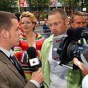 Friends Event, Joost Buitenweg geinterviewd door BNN