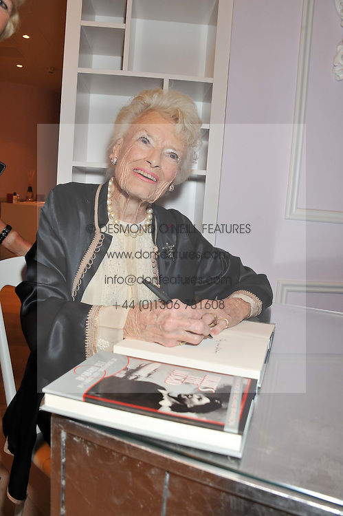 EVE BRANSON at a party to celebrate the publication of Mum's The Word by Eve Branson held at Grace, West Halkin Street, London on 11th March 2013.