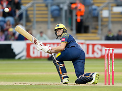 Glamorgan's Aneurin Donald pulls<br /> <br /> Photographer Simon King/Replay Images<br /> <br /> Vitality Blast T20 - Round 14 - Glamorgan v Surrey - Friday 17th August 2018 - Sophia Gardens - Cardiff<br /> <br /> World Copyright © Replay Images . All rights reserved. info@replayimages.co.uk - http://replayimages.co.uk