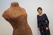 Medusa, a new life-size sculpture by British artist Susie MacMurray (pictured) at Merville Galleries. London Art Fair opens at the Business Design Centre, Islington, London.