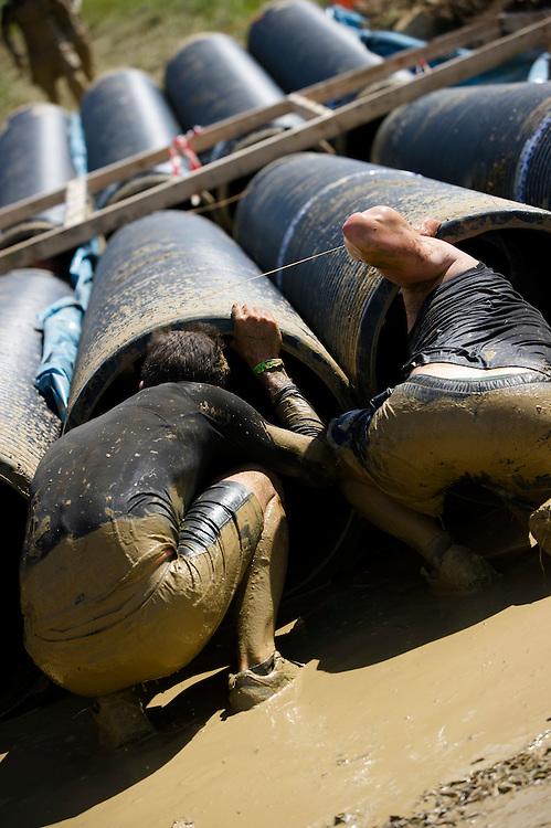 Tough Mudder - May 2012 - Northamptonshire - Tube Crawl