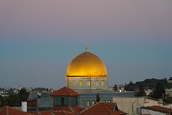 A view of the Dome of the Rock in the Old City of Jerusalem. From a series of travel photos taken in Jerusalem and nearby areas. Photo date: Monday, July 30, 2018. Photo credit should read: Richard Gray/EMPICS