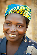 Local woman in the village of Rhumsiki, in the north of Cameroon