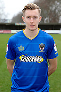 AFC Wimbledon striker Joe Pigott (39) in AFC Wimbledon  kit during the EFL Sky Bet League 1 match between AFC Wimbledon and Blackpool at the Cherry Red Records Stadium, Kingston, England on 20 January 2018. Photo by Matthew Redman.