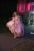 Chloe Pridham, The Moet and Chandon Fashion Tribute 2006 Honouring British Photographer Nick Knight. Strawberry Hill House. Twickenham. 24 October 2006. -DO NOT ARCHIVE-© Copyright Photograph by Dafydd Jones 66 Stockwell Park Rd. London SW9 0DA Tel 020 7733 0108 www.dafjones.com