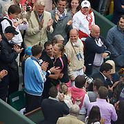 Dinara Safina, Russia, in action against Svetlana Kuznetsova, Russia, during the Women's Singles Final atthe French Open Tennis Tournament at Roland Garros, Paris, France on Saturday, June 6, 2009. Photo Tim Clayton