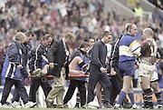 Reading. England. European Shield Final at the Madeski Stadium, NEC Harlequins v RC Narbonne.<br /> <br /> [Mandatory Credit, Peter Spurrier/ Intersport Images].