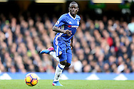 Ngolo Kante of Chelsea in action. Premier league match, Chelsea v Arsenal at Stamford Bridge in London on Saturday 4th February 2017.<br /> pic by John Patrick Fletcher, Andrew Orchard sports photography.