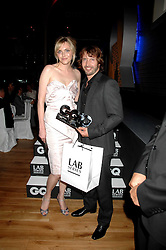 Model SOPHIE DAHL and singer JAMES BLUNT winner of the solo artist of the year award at the 10th annual GQ Men of the Year Awards held at the Royal Opera House, Covent Garden, London on 4th September 2007.<br /><br />NON EXCLUSIVE - WORLD RIGHTS
