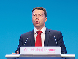 Iain McNicol <br /> General Secretary <br /> of The Labour Party <br /> speech 'Rebuilding our party'<br /> 22nd September 2013 <br /> at The Labour Annual Party Conference, Brighton, Great Britain <br /> <br /> <br /> iain McNicol  <br /> <br /> <br /> <br /> <br /> <br /> Photograph by Elliott Franks <br /> contact:<br /> Tel: 07802 537 220 <br /> email: elliott@elliottfranks.com<br /> www.elliottfranks.com<br /> <br /> Agency space rates apply <br /> editorial use only <br /> 2013 © Elliott Franks