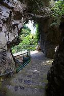 "The Amalfi coast mountain "" Walk of the Gods""   around Nocelle, Positano, Italy"
