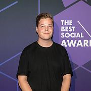 NLD/Amsterdam/20190613 - Inloop uitreiking De Beste Social Awards 2019, Vincent Visser