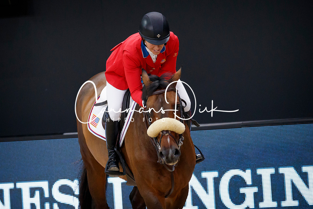 Madden Beezie, USA, Breitling<br /> LONGINES FEI World Cup™ Finals Paris 2018<br /> © Hippo Foto - Dirk Caremans<br /> 13/04/2018