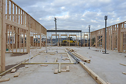 ACMAT Corporation Administrative Headquarters Building.  Construction Progress, Pre-Construction Views.Architect: Quisenberry Arcari Architects, LLC  Contractor: Enfield Builders, Inc.  EBI Project #11-013.James R Anderson Photography   New Haven CT   photog.com.Date of Photograph: 19 December 2011  Image No. 08.Camera View: North, Inside Building, center.