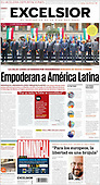 September 19, 2021 - LATIN AMERICA: Front-page: Today's Newspapers In Latin America