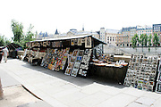 France, Paris, Book stalls on the River Seine