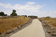 Gamla Second Temple period, ancient Jewish city and nature reserve on the Golan Heights, Israel