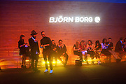 ' We think you rock' Bjorn Borg launch. Battersea Power station. London. 16 February 2012.