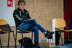 Coach Avital Selinger of Talent Team in action as ass. coach during the league match Talentteam Papendal vs.  Eurosped on January 23, 2021 in Ede.