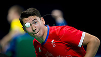 20160908 Copyright onEdition 2016©<br /> Free for editorial use image, please credit: onEdition<br /> <br /> Table Tennis Athlete Ross Wilson, (Singles Class 8 - Men), from Minster, competing for ParalympicsGB at the Rio Paralympic Games 2016.<br />  <br /> ParalympicsGB is the name for the Great Britain and Northern Ireland Paralympic Team that competes at the summer and winter Paralympic Games. The Team is selected and managed by the British Paralympic Association, in conjunction with the national governing bodies, and is made up of the best sportsmen and women who compete in the 22 summer and 4 winter sports on the Paralympic Programme.<br /> <br /> For additional Images please visit: http://www.w-w-i.com/paralympicsgb_2016/<br /> <br /> For more information please contact the press office via press@paralympics.org.uk or on +44 (0) 7717 587 055<br /> <br /> If you require a higher resolution image or you have any other onEdition photographic enquiries, please contact onEdition on 0845 900 2 900 or email info@onEdition.com<br /> This image is copyright onEdition 2016©.<br /> <br /> This image has been supplied by onEdition and must be credited onEdition. The author is asserting his full Moral rights in relation to the publication of this image. Rights for onward transmission of any image or file is not granted or implied. Changing or deleting Copyright information is illegal as specified in the Copyright, Design and Patents Act 1988. If you are in any way unsure of your right to publish this image please contact onEdition on 0845 900 2 900 or email info@onEdition.com