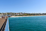 San Clemente Real Estate Seen From the Pier