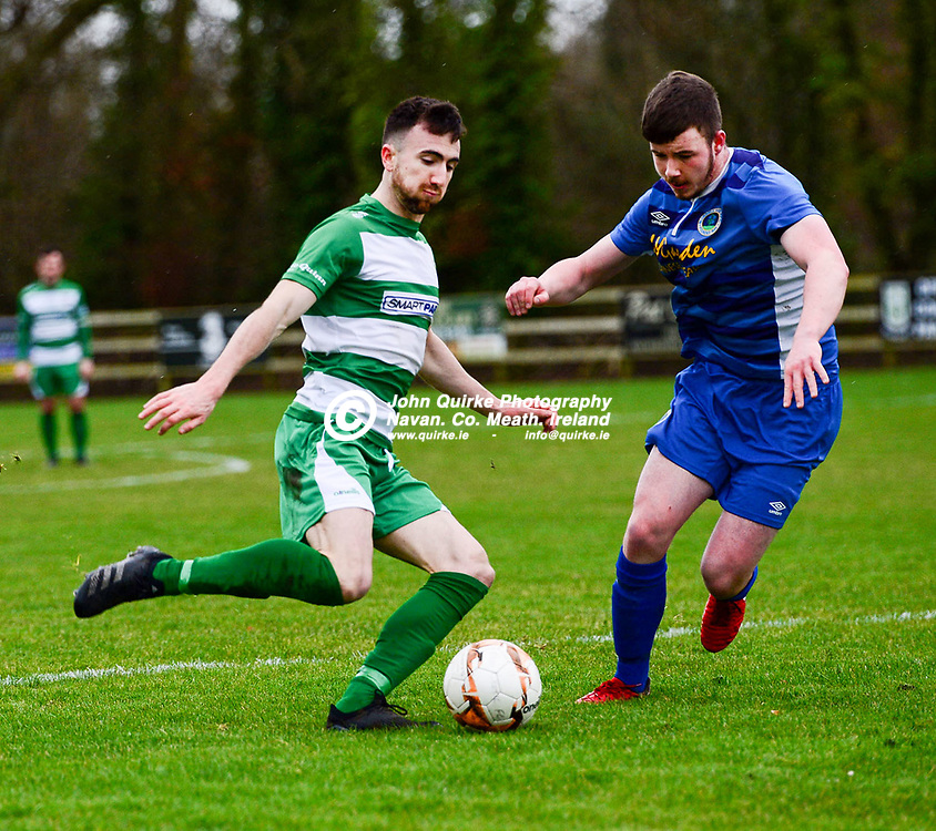 Colm cArney is on the fro Trim Celtic   in the Trim Celtic v Bluebell Utd, Leinster Junior Cup match in Trim<br /> <br /> Photo: GERRY SHANAHAN-WWW.QUIRKE.IE<br /> <br /> 08-02-2020