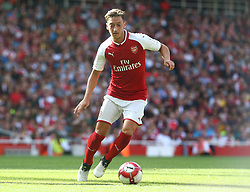 July 30, 2017 - London, England, United Kingdom - Arsenal's Mesut Ozil..during Emirates Cup match between Arsenal  against Savilla FC   at The Emirates Stadium in north London on July 30, 2017, the game is one of four matches played over two days for the Emirates Cup. (Credit Image: © Kieran Galvin/NurPhoto via ZUMA Press)