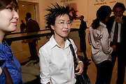 DEBBIE HAN, Korean Eye Dinner  hosted by The Dowager Viscountess Rothermere and Simon De Pury.Sponsored by CJ, Korean Food Globalization Team, Hino Consulting and Visit Korea Committee. Phillips de Pury Space, Saatchi Gallery.  Sloane Sq. London. 2 July 2009.