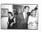 Toni Goodale, Charlie Rose and Amanda Burden at the Ben Bradlee book party © Copyright Photograph by Dafydd Jones 66 Stockwell Park Rd. London SW9 0DA Tel 020 7733 0108 www.dafjones.com