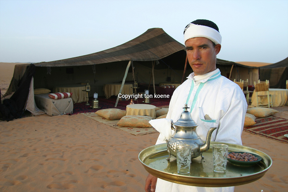 staff in a hotel in Morocco