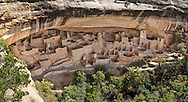 Cliff Palace, Anasazi dwellings at Mesa Verde National Park, Colorado, USA