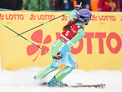 11.03.2010, Kandahar Strecke Damen, Garmisch Partenkirchen, GER, FIS Worldcup Alpin Ski, Garmisch, Lady Giant Slalom, im Bild erstplazierte Maze Tina, ( SLO, #5 ), Ski Stoeckli, EXPA Pictures © 2010, PhotoCredit: EXPA/ J. Groder /SPORTIDA PHOTO AGENCY