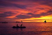 Amazing sunset at Boracay, Philippines.