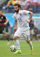 Fotball<br /> Tyskland v USA<br /> 26.06.2014<br /> VM 2014<br /> Foto: Witters/Digitalsport<br /> NORWAY ONLY<br /> <br /> Kyle Beckerman (USA)<br /> Fussball, FIFA WM 2014 in Brasilien, Vorrunde, USA - Deutschland