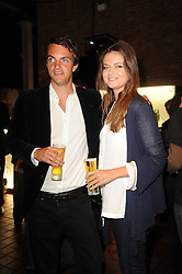VISCOUNT ERLEIGH and his sister LADY NATASHA RUFUS-ISAACS at the Launch of Peroni Nastro Azzurro Accademia del Film Wrap Party Tour held atThe Boiler House, 152 Brick Lane, London E1 on 25th August 2010.