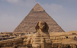 The Sphinx and Great Pyramids of Giza. (Photo © Jock Fistick)