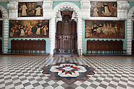 Hall of the Museum of Church and Convent of Santo Domingo
