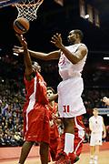 DESCRIZIONE : Milano Eurolega Euroleague 2013-14 EA7 Emporio Armani Milano Olympiacos Piraeus<br /> GIOCATORE : Gani Lawal Bryant Dunston<br /> CATEGORIA : Rimbalzo<br /> SQUADRA : EA7 Emporio Armani Milano Olympiacos Piraeus<br /> EVENTO : Eurolega Euroleague 2013-2014<br /> GARA : EA7 Emporio Armani Milano Olympiacos Piraeus<br /> DATA : 09/01/2014<br /> SPORT : Pallacanestro <br /> AUTORE : Agenzia Ciamillo-Castoria/G.Cottini<br /> Galleria : Eurolega Euroleague 2013-2014  <br /> Fotonotizia : Milano Eurolega Euroleague 2013-14 EA7 Emporio Armani Milano Olympiacos Piraeus<br /> Predefinita :