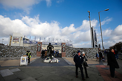 General View as fans arrive at Goodison Park before the match - Photo mandatory by-line: Rogan Thomson/JMP - 07966 386802 - 10/01/2015 - SPORT - FOOTBALL - Liverpool, England - Goodison Park - Everton v Manchester City - Barclays Premier League.