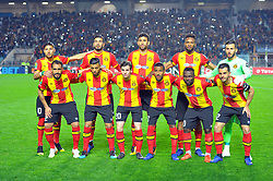 March 8, 2019 - Rades, Tunisia - Team of (EST) during the  Match of the 5th day of the group phase of the CAF Champions League, between L'Esperance sportive de Tunis (EST) and Horoya Conakry (HAC) of Guinea Friday 8 March Radès.EST won by 2/0 ..photo: Yassine Mahjoub. (Credit Image: © Chokri Mahjoub/ZUMA Wire)