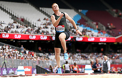 Great Britain's Greg Rutherford competes in the Men's Long Jump during day two of the Muller Anniversary Games at The Queen Elizabeth Stadium, London.