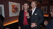 OLIVER PEYTON; DYLAN JONES, Opening of the Keepers House, Royal Academy. London. 26 September 2013