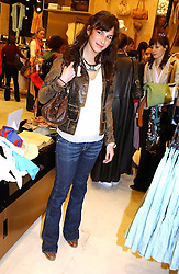 CAROLINE SIEBER at a party to celebrate the opening of the new H&M Flagship Store at 17-21 Brompton Road, London SW3 on 23rd March 2005.<br /><br />NON EXCLUSIVE - WORLD RIGHTS