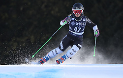 27.01.2018, Lenzerheide, SUI, FIS Weltcup Ski Alpin, Lenzerheide, Riesenslalom, Damen, im Bild Alice Robinson (NZL) // Alice Robinson of New Zealand in action during the ladie's Giant Slalom of FIS ski alpine world cup in Lenzerheide, Austria on 2018/01/27. EXPA Pictures © 2018, PhotoCredit: EXPA/ Sammy Minkoff<br /> <br /> *****ATTENTION - OUT of GER*****