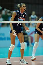 28-08-2010 VOLLEYBAL: WGP FINAL BRAZIL - ITALY: BEILUN NINGBO<br /> Brazil crush Italy in straight sets / Simona Gioli<br /> ©2010-WWW.FOTOHOOGENDOORN.NL