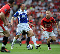 Barry Ferguson<br /> Birmingham City 2009/10<br /> Manchester United V Birmingham City (1-0) 16/08/09<br /> The Premier League<br /> Photo Robin Parker Fotosports International