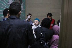 May 23, 2017 - Damascus, Syria - Vaccination campaign for your children under seven year was held by Syrian Arab Red Crescent in Douma, near Damascus, on May 24, 2017. (Credit Image: © Samer Bouidani/NurPhoto via ZUMA Press)