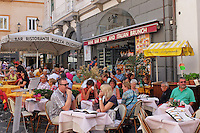 GV, general view, cafe, restaurant, bar, Piazza Duomo, Amalfi, Italy, September, 2015, 201509161619<br /> <br /> Copyright Image from Victor Patterson, 54 Dorchester Park, Belfast, UK, BT9 6RJ<br /> <br /> t1: +44 28 9066 1296<br /> t2: +44 28 9002 2446<br /> m: +44 7802 353836<br /> e: victorpatterson@me.com<br /> <br /> www.victorpatterson.com<br /> <br /> IMPORTANT: Please see my Terms and Conditions of Use at www.victorpatterson.com